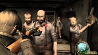 getlinkyoutube.com-Resident evil 4 Profesional NO DAMAGE Capitulo 1-1