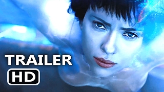 GHOST IN THE SHELL Official Trailer # 2 (2017) Scarlett Johansson Sci Fi Movie HD