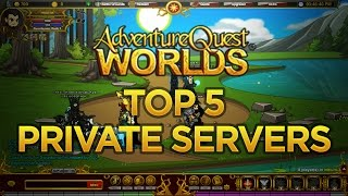getlinkyoutube.com-AQW Private Server 100% work Top 5