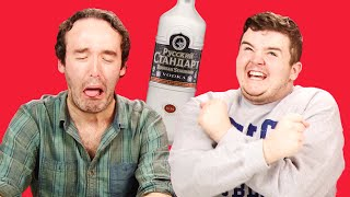 getlinkyoutube.com-Irish People Taste Test Russian Vodka