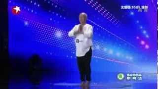 getlinkyoutube.com-Wygimnastykowany dziadek w Mam Talent [NAPISY PL]