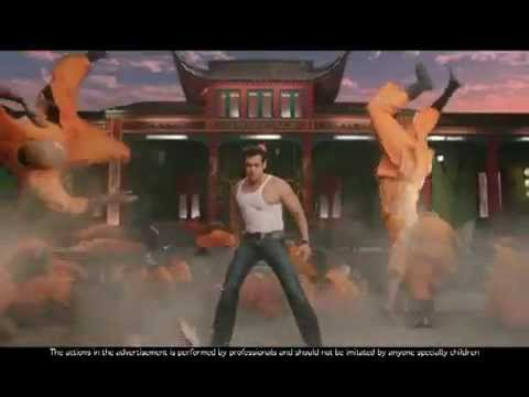 Salman Khan Dixcy Scott New TVC