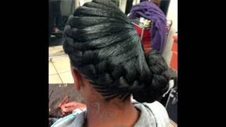getlinkyoutube.com-Awesome Goddess Braids Women Hairstyle Ideas