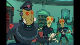 Rick And Morty   EP1S3: The Rickshank Redemption: Rick Collapses The Galactic Federation