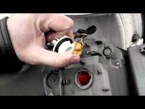 Замена заднего стопа на мицубиси аутлендер 3