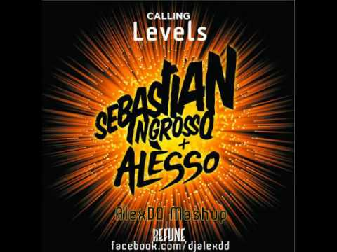 Sebastian Ingrosso &amp; Alesso vs Avicii vs Clockwork - Calling Levels (AlexDD Mashup) -PHv__AailKk