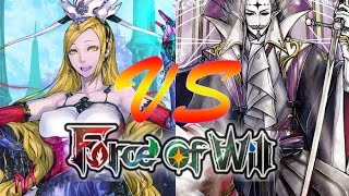 getlinkyoutube.com-Force of Will (TCG) Feature Match: Team Memoria Val 2 vs. Mikage Stealth