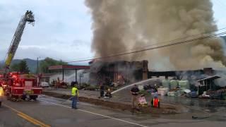 getlinkyoutube.com-Very Large Fire in Roan Mountain(1)