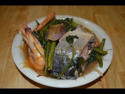 How to Cook Sinigang sa Bayabas na Bangus with Hipon Lutong Pinoy