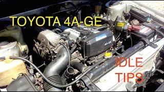 getlinkyoutube.com-Fixing idle problems on Toyota 4AGE Engine (Fuel Mixture, Dirty Throttle, Vac Leaks, ISC Valve...)