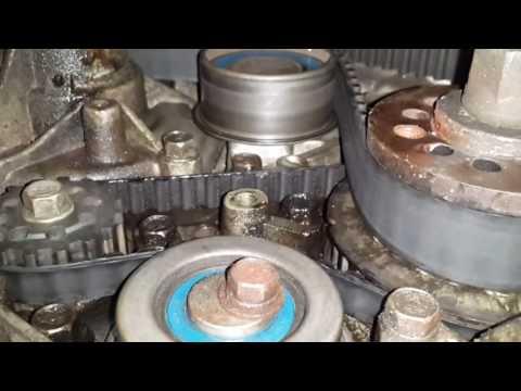 Замена помпы 4g63 SOHC (8-клапанов) в гаражных условиях