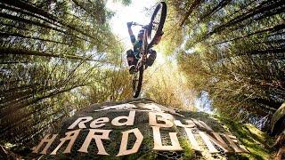 getlinkyoutube.com-Extreme Downhill Mountain Bike Racing | Red Bull Hardline 2016