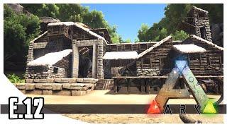 getlinkyoutube.com-ARK: Survival Evolved - T-Rex Garage! - EP.12