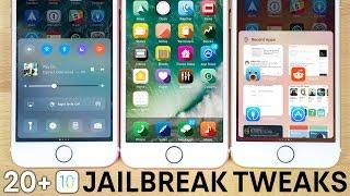 Top 20 NEW iOS 10 Jailbreak Tweaks!