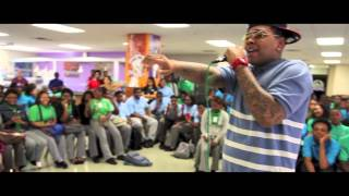 Kevin Gates - Day in The Life VLOG #4 [SCHOOLS & TATTOOS]