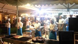 getlinkyoutube.com-Dancing Chefs - Boracay Regency Sea Breeze Cafe