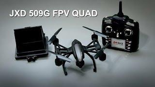 getlinkyoutube.com-JXD 509G FPV Quadcopter [Unboxing A Beginner's FPV Trainer]