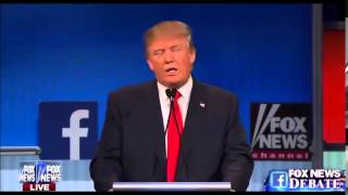 getlinkyoutube.com-Donald Trump Booed Within One Minute Of Debate