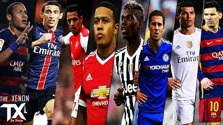 getlinkyoutube.com-Best Football Skills Mix ◄ 2015/16 ► | HD | iTXenon™ | CO-OP |