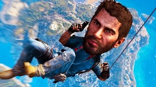 getlinkyoutube.com-GRAPPLING TO SPACE - Just Cause 3 Easter Eggs