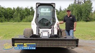 getlinkyoutube.com-Skid Steer Solutions Bradco Ground Shark Brush Cutter