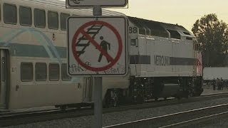 getlinkyoutube.com-Witness: Plitt stumbled over tracks with camcorder