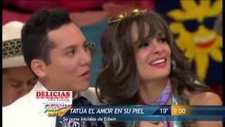 getlinkyoutube.com-Las Noticias - Edwin Luna y Alma Cero ya viven en Monterrey