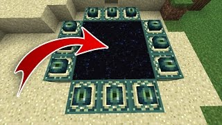 getlinkyoutube.com-MCPE 1.0.2 END PORTAL SEED! - Stronghold UNDER Spawn!!! - ENDERDRAGON | Minecraft Pocket Edition