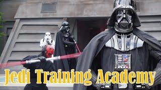 getlinkyoutube.com-ºoº [SW] ディズニー スターウォーズ ジェダイアカデミー ダースベイダー&ダースモール vs ジェダイ パダワン STAR WARS Jedi Training Academy at WDW