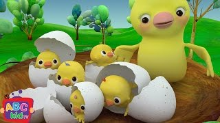 getlinkyoutube.com-Five Little Birds   Nursery Rhymes & Kids Songs - ABCkidTV