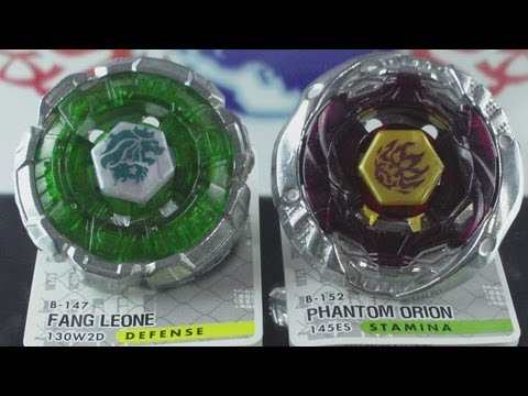 EPIC Battle Fang Leone 130WD VS Phantom Orion 145ES (Beyblade Metal Fury Hasbro) HD! AWESOME