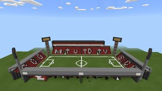 getlinkyoutube.com-[AZD]-[รีวิว] สนามฟุตบอลเมืองทองยูไนเต็ดใน MINECRAFT PE