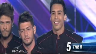 "getlinkyoutube.com-العروض المباشرة في ... The X Factor ""راجعين"" The 5"