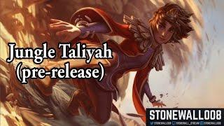 新英雄Taliyah PBE打野影片