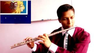 Marco (No te vayas mamá) opening and Candy ending - Flute cover by Gabe
