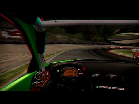 Need For Speed Shift Anaglyph 3D BMW M3 (Red/Cyan Brille) Nvidia GeForce GTS250
