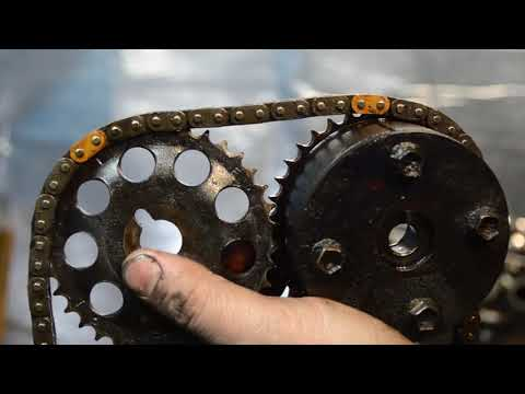 Разбор двигателя 1ZZ-FE