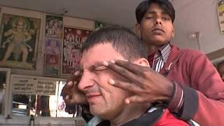 getlinkyoutube.com-Традиционное бритье в Непале