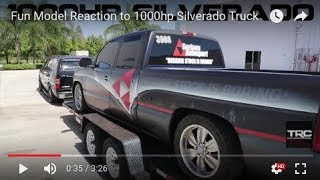 getlinkyoutube.com-Jelacy rides in 1000hp Silverado Truck