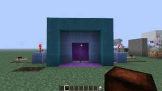 getlinkyoutube.com-Minecraft 1.5.2:ประตู 2x2 แบบหลายๆชั้น