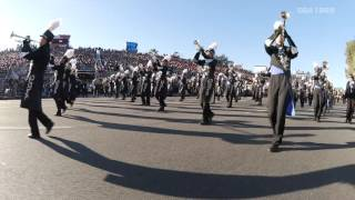 getlinkyoutube.com-ROSE PARADE 2016 TOHO High School Green Band 【multi-camera & high quality sound】