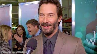 getlinkyoutube.com-John Wick - Interview with Keanu Reeves at Hollywood screening