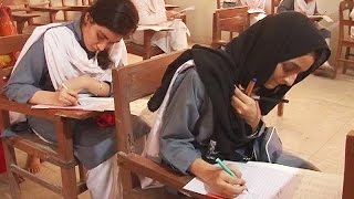 What happened when Sindh Education minister visit to girls college in Karachi ? Watch this video width=