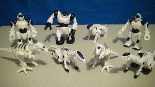 MCDONALD'S HAPPY MEAL WOW WEE ROBOTICS 2005 TOY COLLECTION VIDEO REVIEW