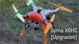 Syma X8HC [FPV & 1080p HD Video Upgrades]
