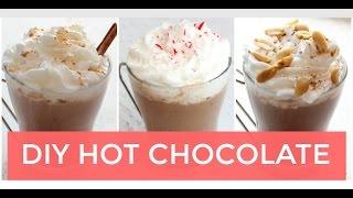 getlinkyoutube.com-Hot Chocolate 3 Easy Ways | Healthy Hot Cocoa Recipe