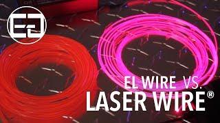 getlinkyoutube.com-Ellumiglow.com - EL Wire vs. Laser Wire