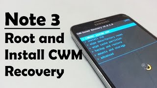 getlinkyoutube.com-How to root Galaxy Note 3 and install CWM / TWRP / PHILZ recovery