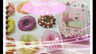 PLANNER COVER DIY! Happy Planner & Dollar Tree Planner