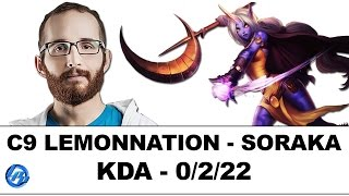 C9 LemonNation - Soraka Support - NA SoloQ